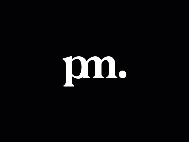Logo Mark clean name letters initials logo mark logo branding nudds