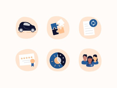 Healthcare Icons treatment car care certificate day night nurses health healthcare nudds