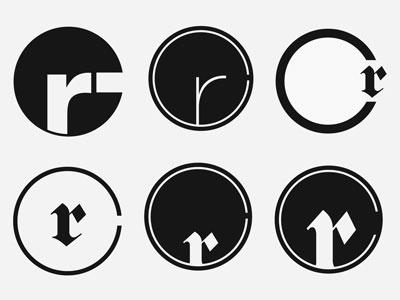 New Logo (Personal Identity) logo circular identity