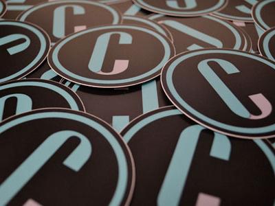 Stickers! logo circular identity branding stickers