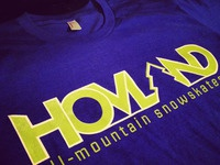 Snowskate T Shirt (Logo Design)