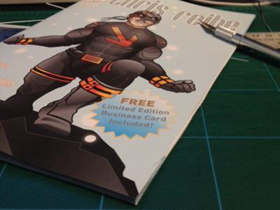 Promotional Booklets promotional illustration design portfolio comic book promo superhero