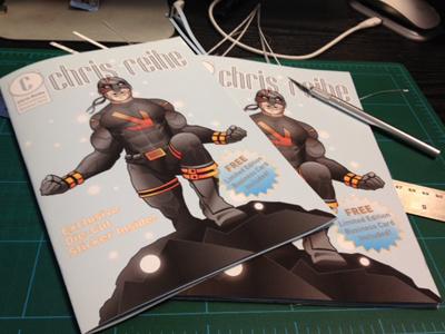Promo Booklets illustration presentation graphic design booklet print comic book superhero