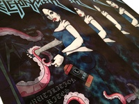 Skeletonwitch VS Cthulhu 11x17 Tour Poster
