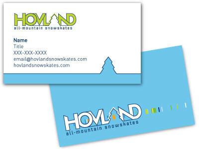 Snowskate Business Card Design snowskates ski skate shred business card print design