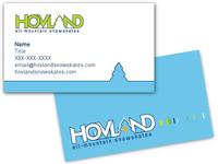 Snowskate Business Card Design