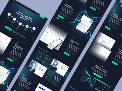 Core - Contractbook contractbook branding design illustration landing page layout www website web ui