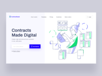 Contractbook Homepage