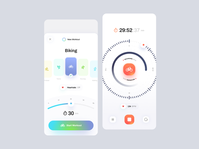Kulture Athletics - Workout workout app tonik product design product mobile minimal kulture interaction design fitness design application app ux design ui design ux ui