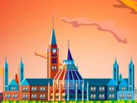 Ottawa City Illustration