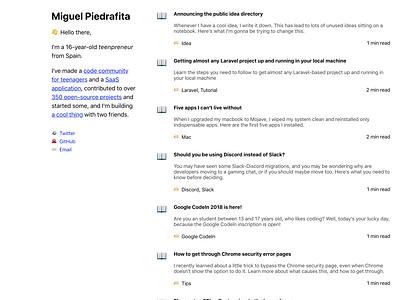 Minimal blog design web design simple design website minimal blog