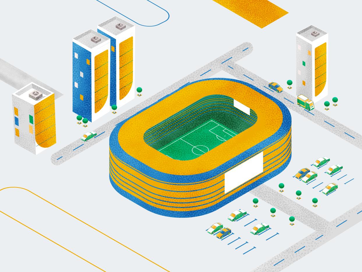 football city pattern brush city city builder abstact isometric design design illistration car illustration motion character concept animation art animation 2d