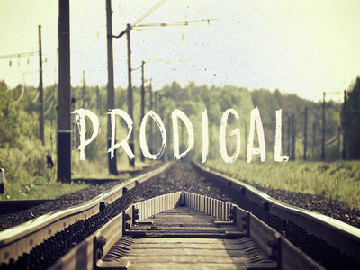 Prodigal Hand Drawn Type