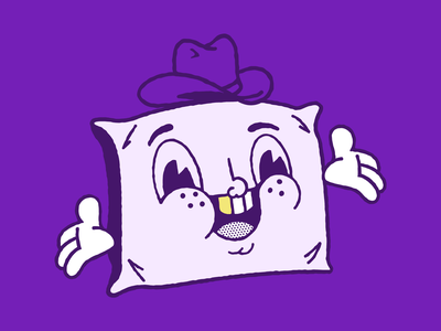 Pillow Buddy characterdesign fun drawing character pillow illustration