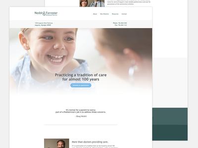 // 03*20 // Nesbit & Forrester Website