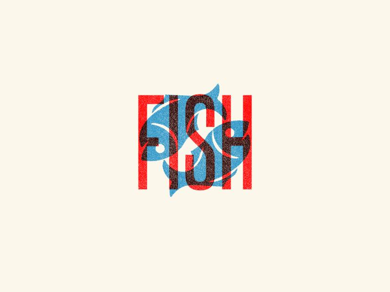 Fish graphic design design drawing type illustration