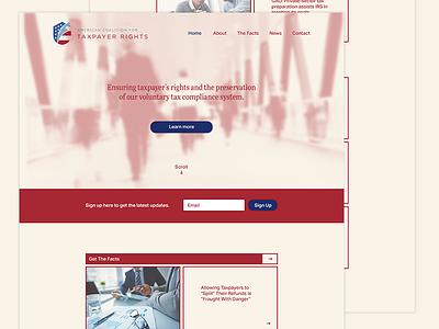 ACTR Web wierstewart taxes branding design web design website web