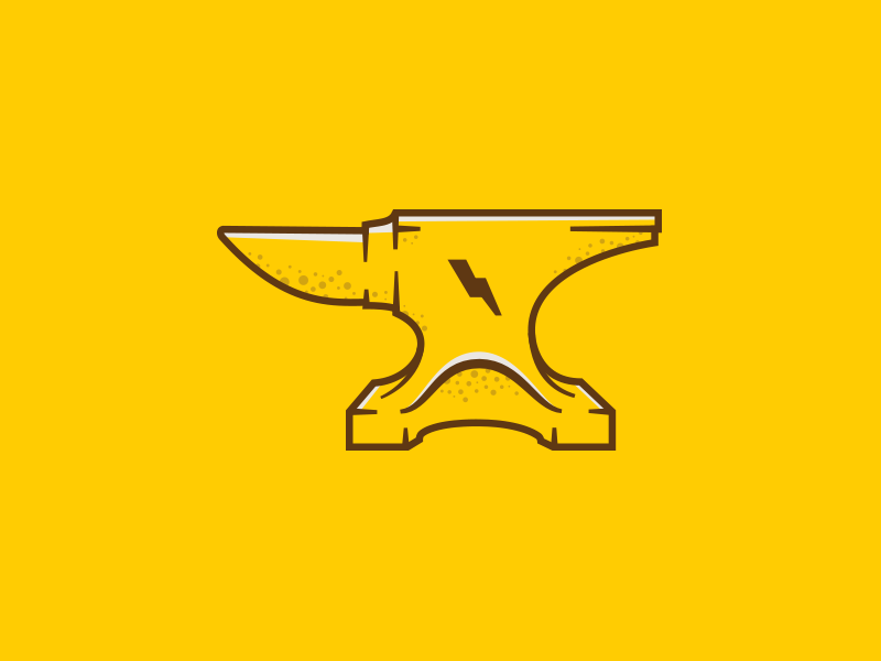 Anvil Illustration wierstewart design anvil illustration
