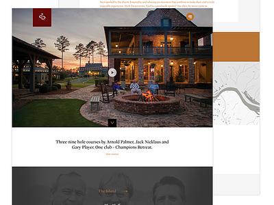 Champions Reatreat Website wierstewart golf design ui dnn web design website web