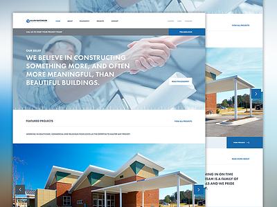 Allen Batchelor Website Redesign wierstewart website ui branding web design web