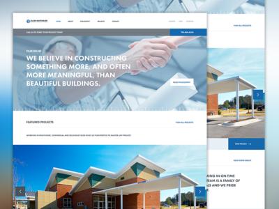 Allen Batchelor Website Redesign