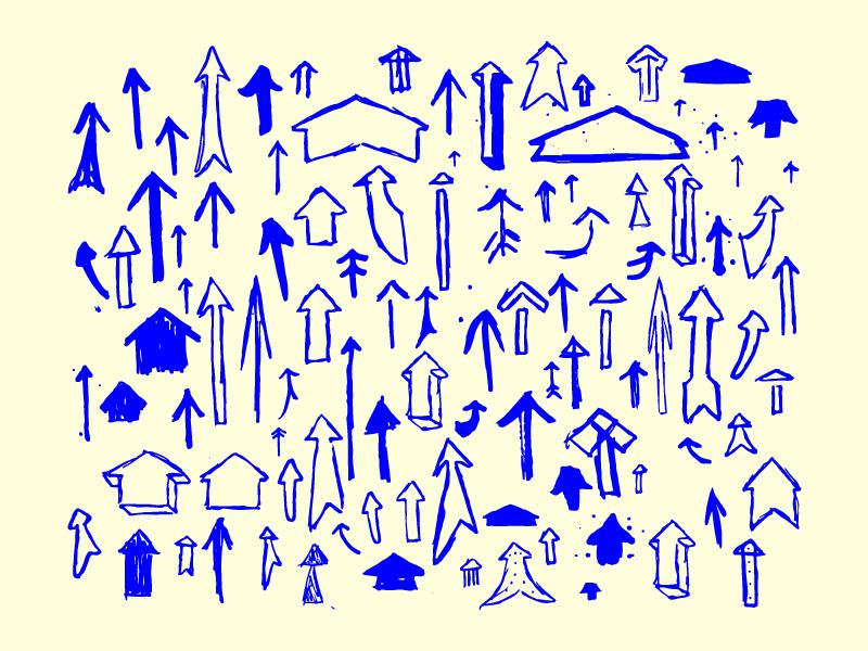 100 Hand Drawn Vector Arrows hand drawn for sale illustration arrows vector