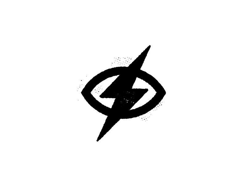 Bold Vision whiteboard bold vision illustration lightening bolt eye symbol