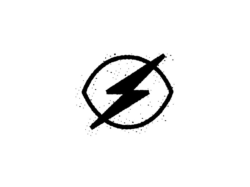 Bold Vision 2 whiteboard symbol lightening bolt illustration eye bold vision