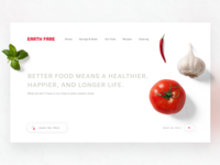 Earth Fare Homepage Redesign