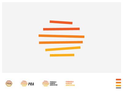 PRA 01 running logo pensacola sun branding