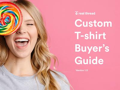 Custom Tshirt Buyer's Guide patrick chin custom tshirt real thread freebie guide tshirt