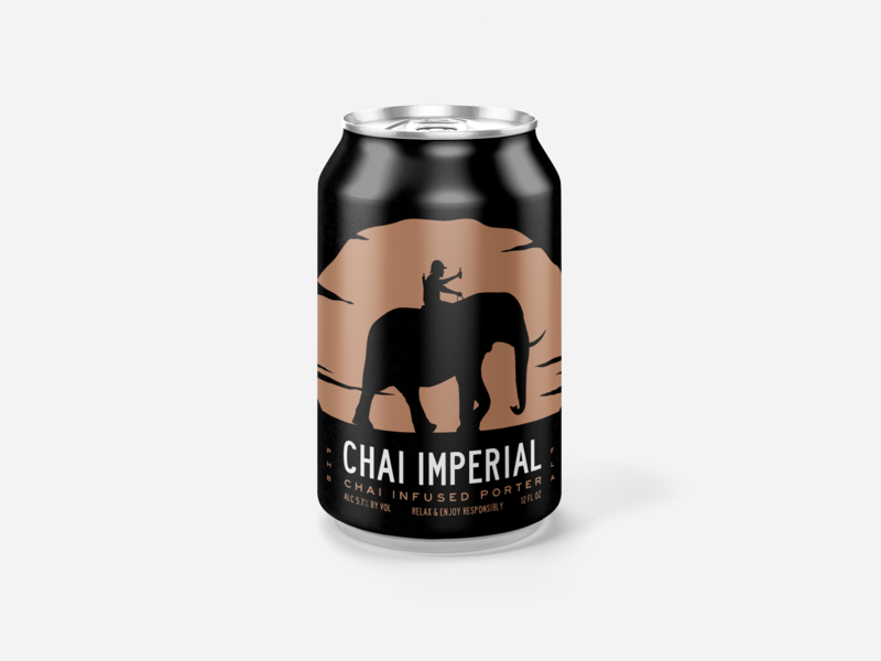 Imperial Chai 01 packagingdesign packing beer design beer can design beer can beer