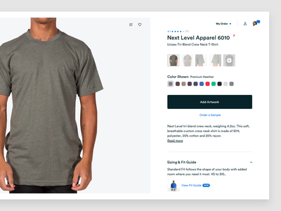 New Single Product tshirt product ux ui ux-ui uidesign web interface ecommerce design flat  design web design ecommerce desktop