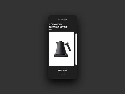 Card Study principle prototype motion design motion card study card app design