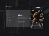 Build your body (part of landing page)