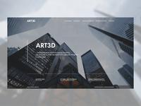 ART3D main page concept