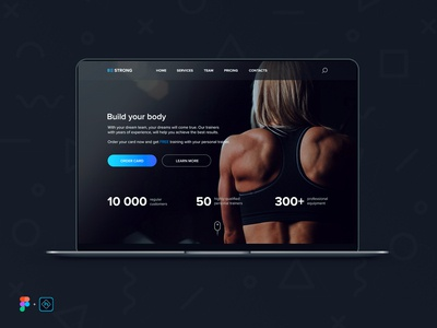 Build your body (main page)