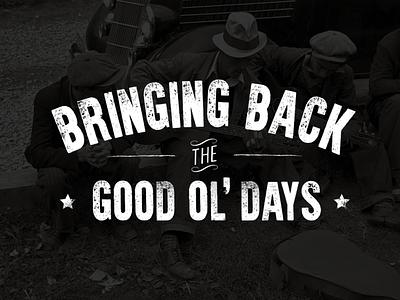 ASHVILLE vintage print oldschool western lettering webdesign poster worn bluegrass retro branding typography