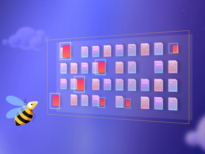 Bee Turnaround honeybee beehive insect cloudbased the cloud documents bee wings bee fly frame by frame frame-by-frame turnaround bee jagthund 2d animation illustration animation