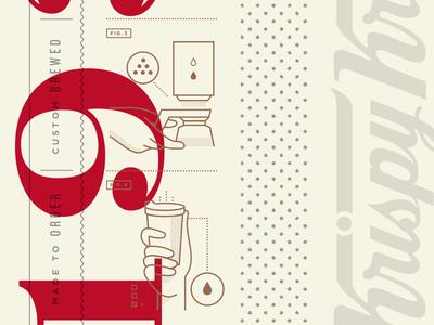 Krispy Kreme Coffee Cup Details cup heritage coffee doughnut krispy kreme