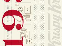 Krispy Kreme Coffee Cup Details