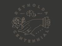 Reynolda Centennial Sticker
