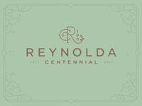 Reynolda Centennial Logo