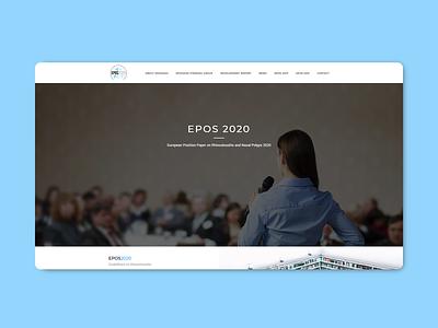 EPOS Website codeit web website webdesign