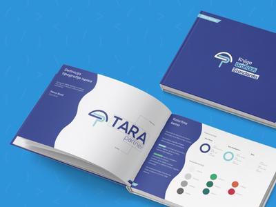 Tara Partner Branding codeit graphicdesign graphicstandardmanual styleguide branding logodesign logo