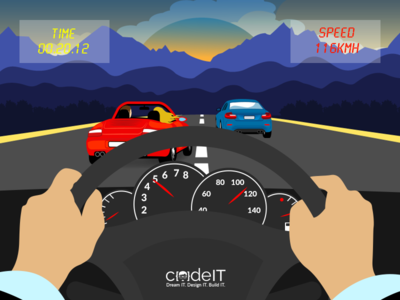 Halo Taxi - Gamification app programmer code vector photoshop illustrator drive cars speed gamificationapp codeit design