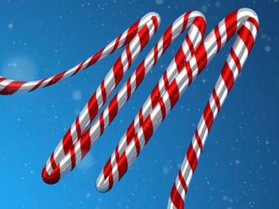 Holidays Test holidays candy cane christmas type typography