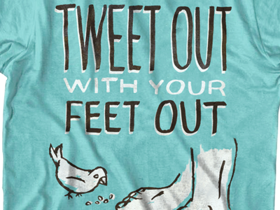 Twitter shirt shirt design idea