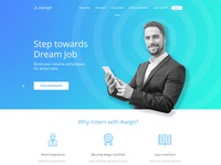 Redesign for internship website