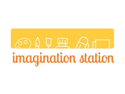 Imagination Station Sign